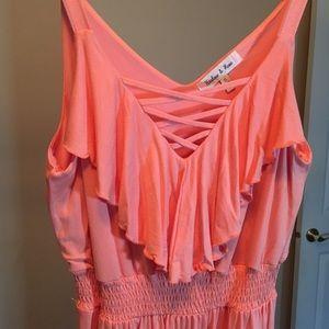 Women's Peach Dress